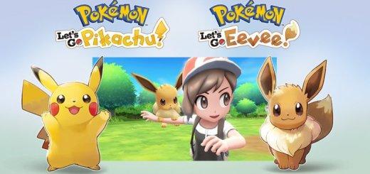 Pokemon Let's Go Pikachu e Let's Go Eevee