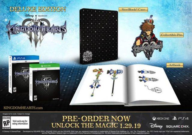 La prima delle due edizioni speciali di Kingdom Hearts 3