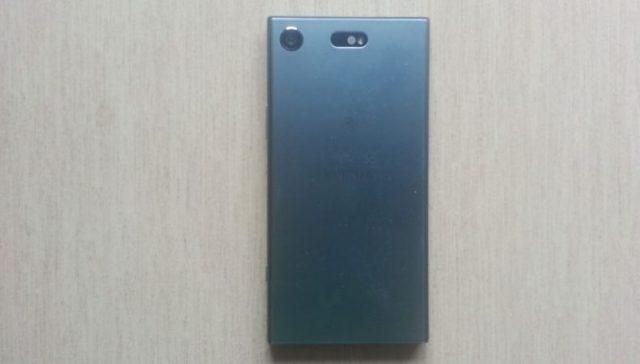 Sony Xperia XZ1 Compact: retro
