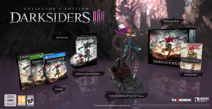 Darksiders 3: Collector's Edition