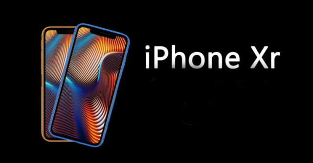 Design dell'iPhone XR