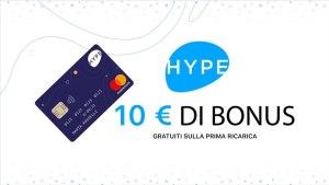 Bonus Hype da 10€