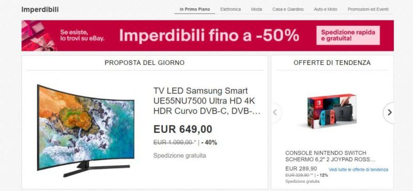 c3707d134627ed Le migliori offerte di Natale su eBay   TechByte