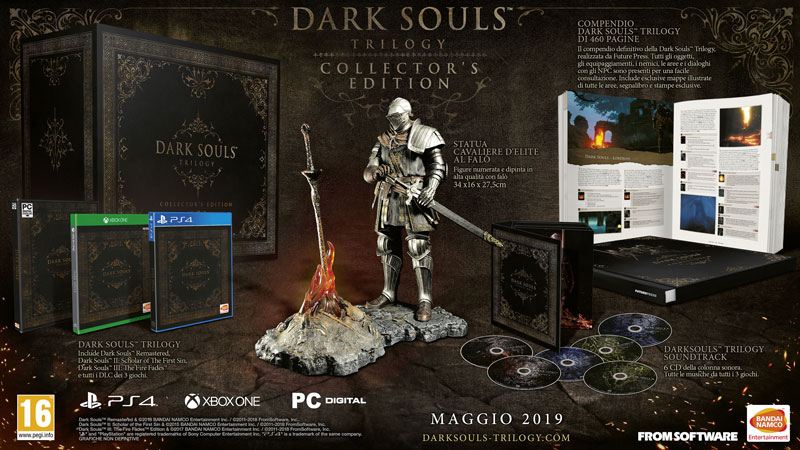 Annunciata la Dark Souls Trilogy Collector Edition 1