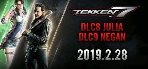 Tekken 7: disponibile il trailer ufficiale di Negan e Julia 1