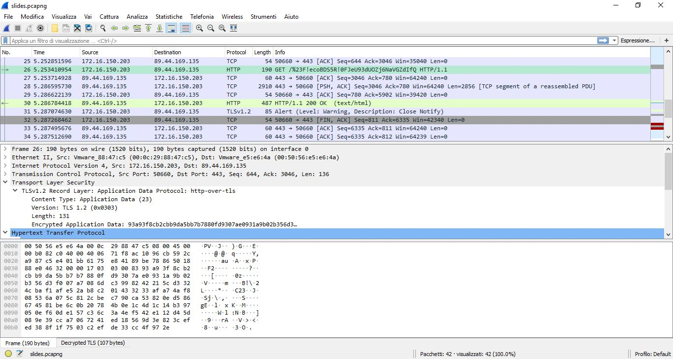 programma decriptare sniffing