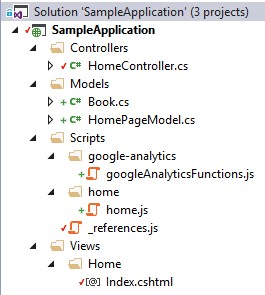 Application With Google Analytics Tracking Enabled