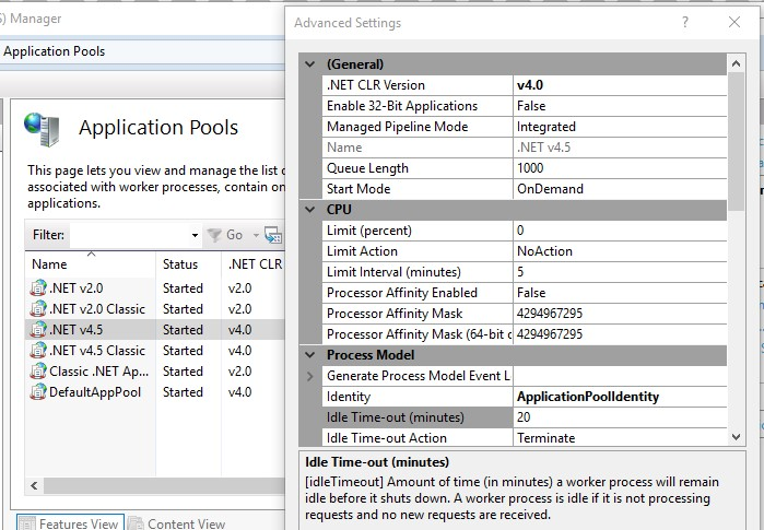 How to increase timeout for your ASP NET Application