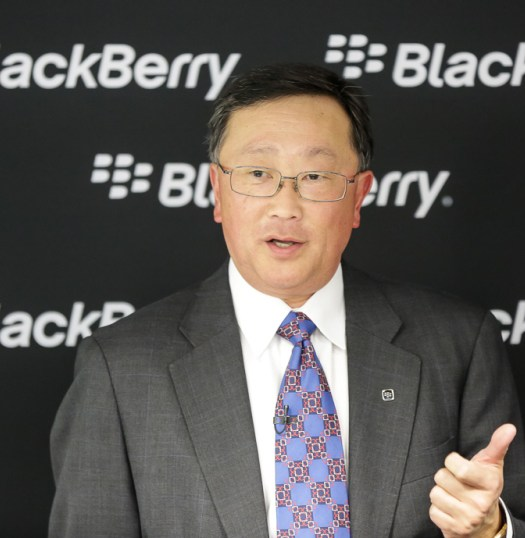 BlackBerry, Ceo, MWC2014