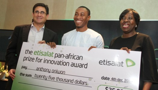 Etisalat Celebrates Winners of the 2014 Pan-African Prize for Innovation