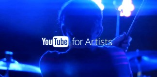 youtube for artiste