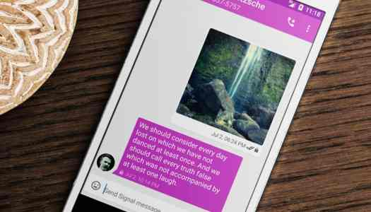 Encrypted chat and call app Signal is coming to Android