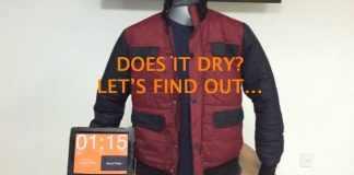 drying jacket