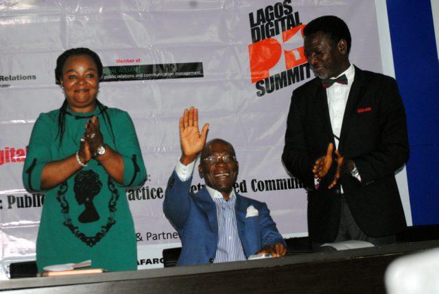Leo Stan at Lagos Digital PR Summit