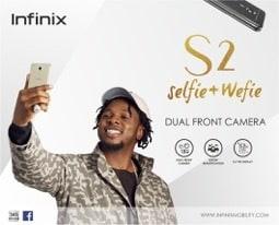 Infinix launches Infinix S2 smartphone; unveils Runtown as ambassador