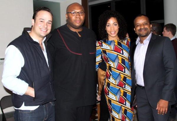 Jeremy, Jason, Maya and one other executive.
