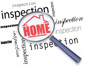 Home inspection magnified by magnifying glass Illustration | Techcon Home Inspection Services