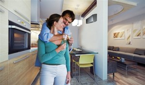 Long Island Home Inspection A Couple in a clean home (heat your home)