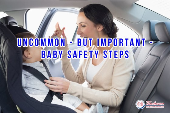 mother-playing-with-her-baby-inside-the-car-Baby Safety
