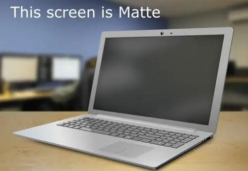 matte display