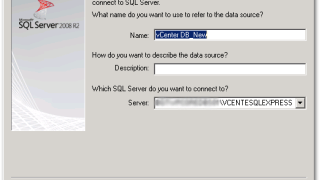 How to change the vCenter Database to a different Database server
