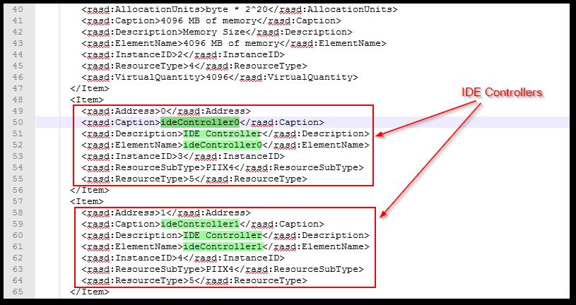 vCenter Server 6 5 : OVF Deployment Error - :VALUE_ILLEGAL