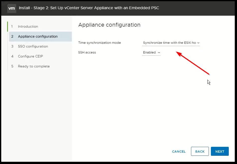 vCenter Server 6.7 : NTP