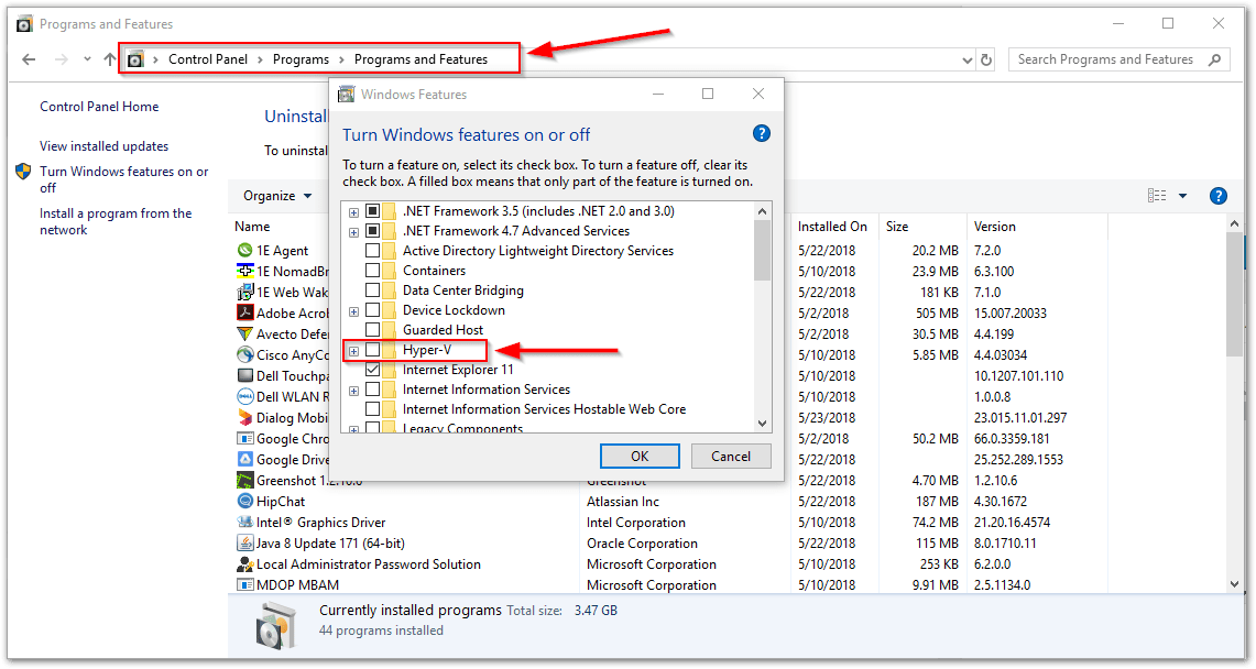 VMware Workstation and Device/Credential Guard are not