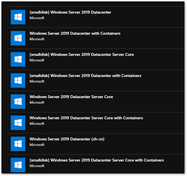 Windows Server 2019 Generally Available: Flavors
