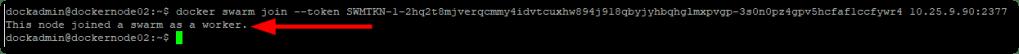 Docker CE On Ubuntu worker join
