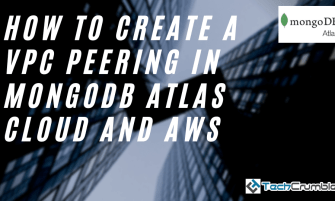 How To Create A VPC Peering In MongoDB Atlas Cloud And AWS