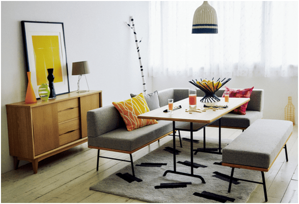 Take the decorative style into your home