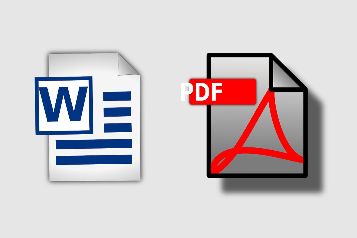 War Of Formats, PDF Vs. Word