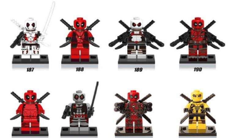 Super Hero minifigures
