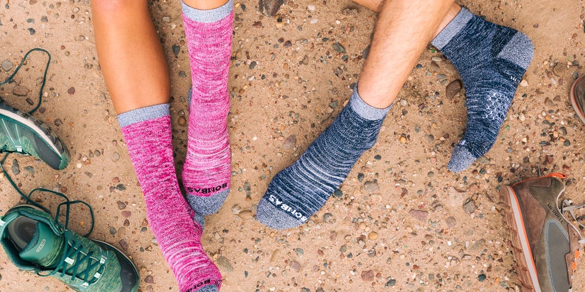 Socks have their own benefits and personal values