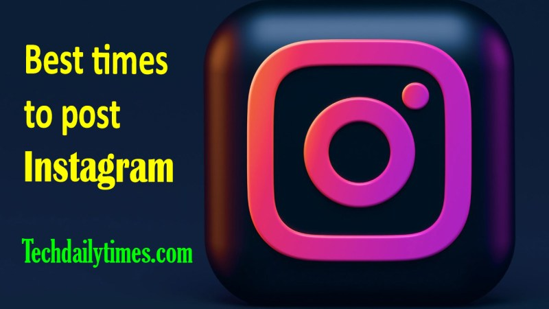 Best times to post Instagram