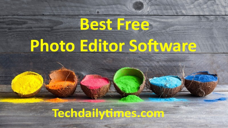 best free photo editor software