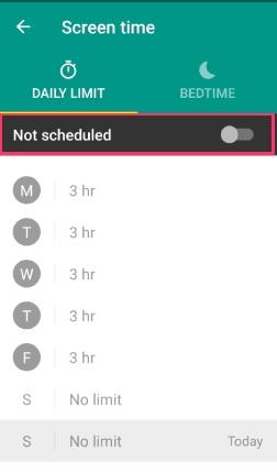 FamilyLink screenshot