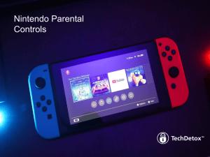 Nintendo parental controls