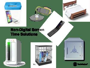 Non-digital solutions for screen time techdetoxbox