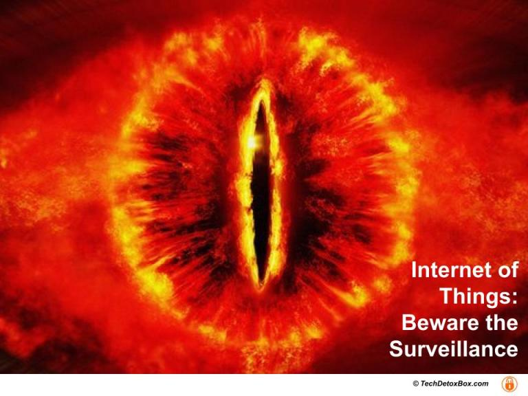 all seeing eye internet of things beware the surveillance
