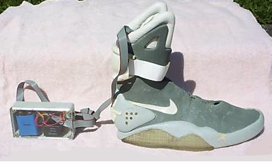 0834c13644a The real McFly - genuine Back to the Future 2 Nike Mag on eBay ...
