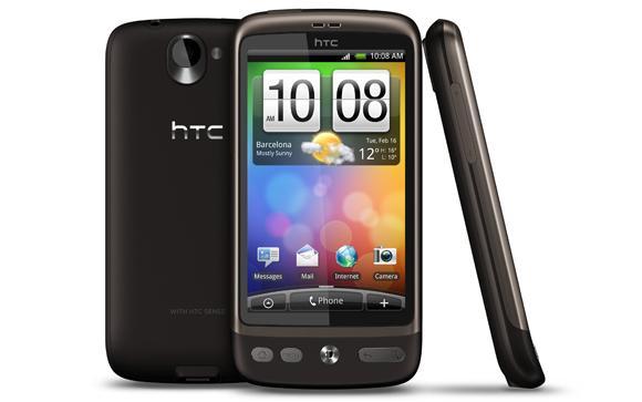 HTC Desire handset