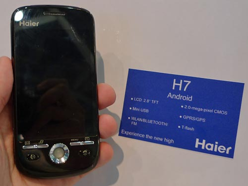 Haier H7: mass market Android phone coming to the UK? - Tech Digest