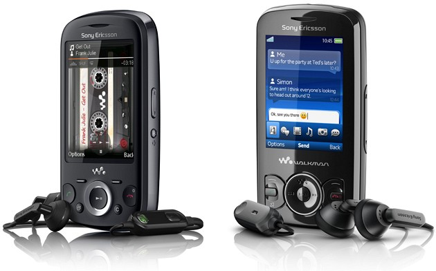 Sony Ericsson Spiro and Zylo