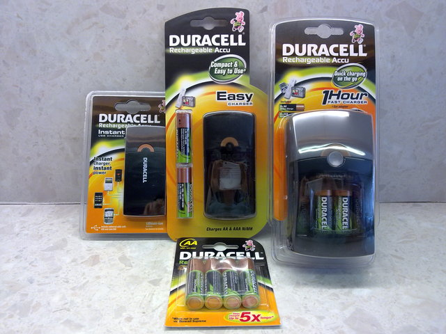 Duracell Rechargeable Accu Range