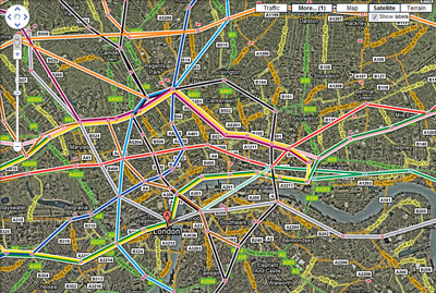 Google adds tube map to Google Maps   Tech Digest google tube map jpg
