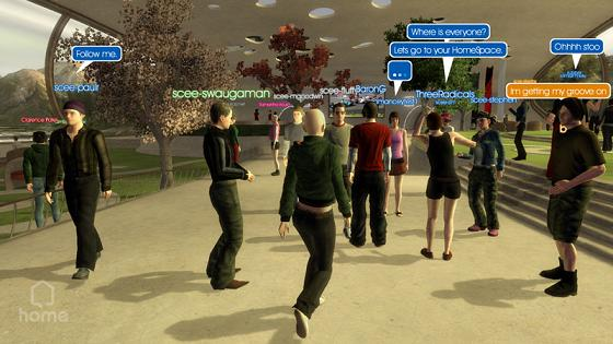 Playstation Home, SCEE