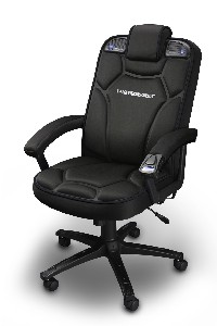 Stupendous Ces 2008 Pyramat Unleashes Pc Gaming Chair 2 1 Tech Digest Short Links Chair Design For Home Short Linksinfo