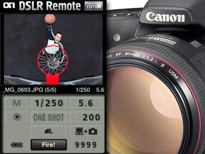 onOne remote camera app